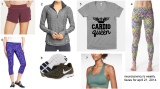 Weekly Faves for April 21, 2014: Fashionable and Functional Workout Clothes