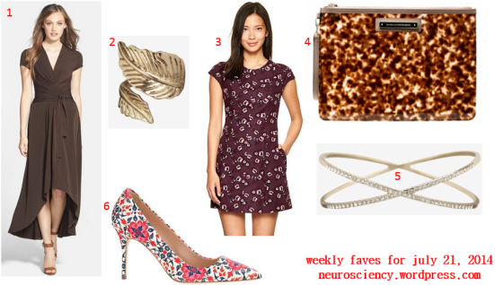 Weekly Faves for July 21, 2014